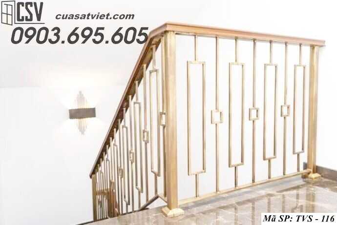 Mẫu tay vịn cầu thang đep TVS 116