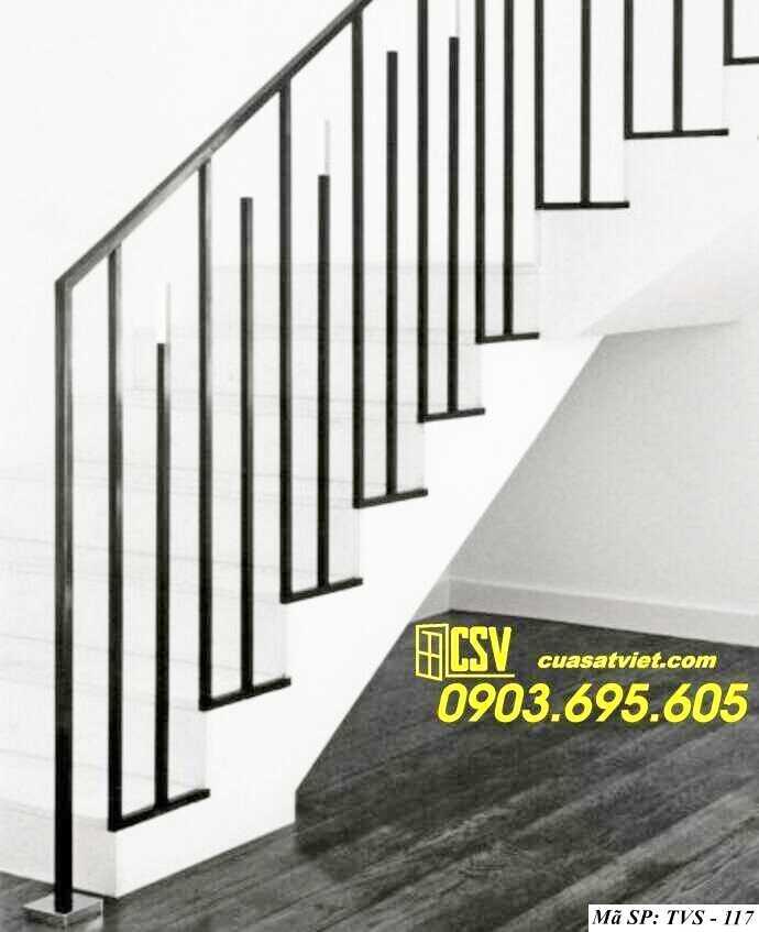 Mẫu tay vịn cầu thang đep TVS 117