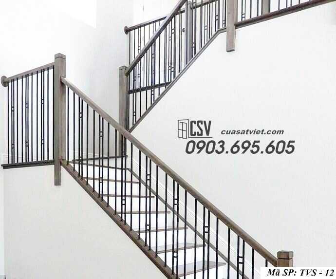 Mẫu tay vịn cầu thang đep TVS 12