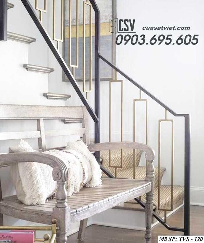 Mẫu tay vịn cầu thang đep TVS 120
