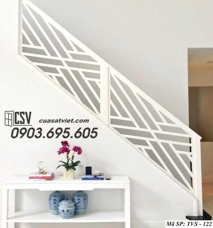 Mẫu tay vịn cầu thang đep TVS 122