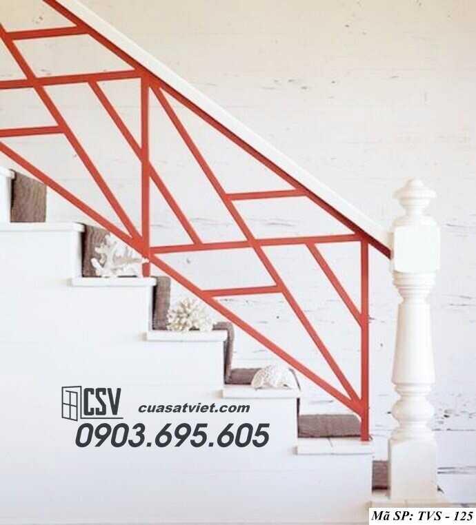 Mẫu tay vịn cầu thang đep TVS 125