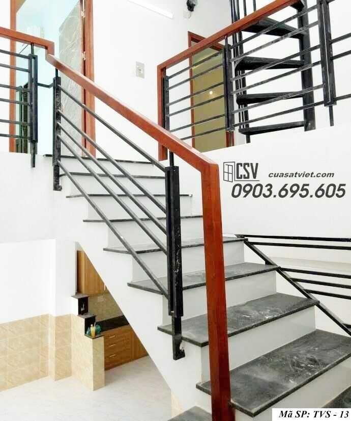 Mẫu tay vịn cầu thang đep TVS 13