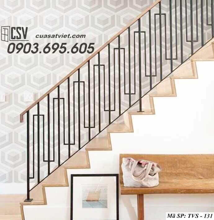 Mẫu tay vịn cầu thang đep TVS 131