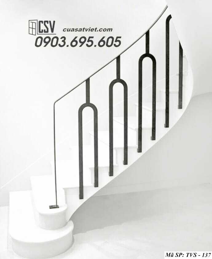 Mẫu tay vịn cầu thang đep TVS 137