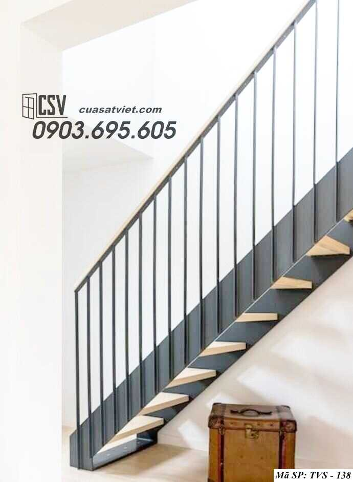 Mẫu tay vịn cầu thang đep TVS 138