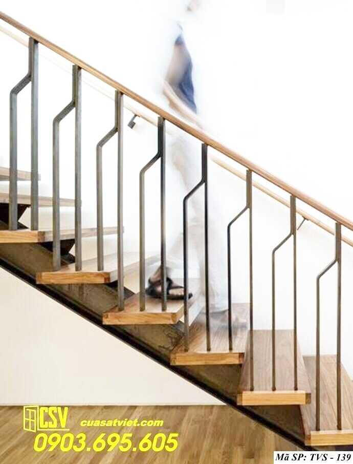 Mẫu tay vịn cầu thang đep TVS 139