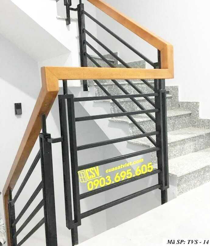 Mẫu tay vịn cầu thang đep TVS 14