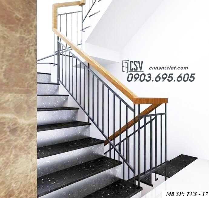 Mẫu tay vịn cầu thang đep TVS 17