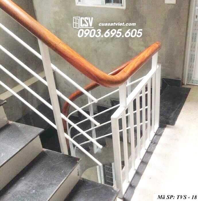 Mẫu tay vịn cầu thang đep TVS 18