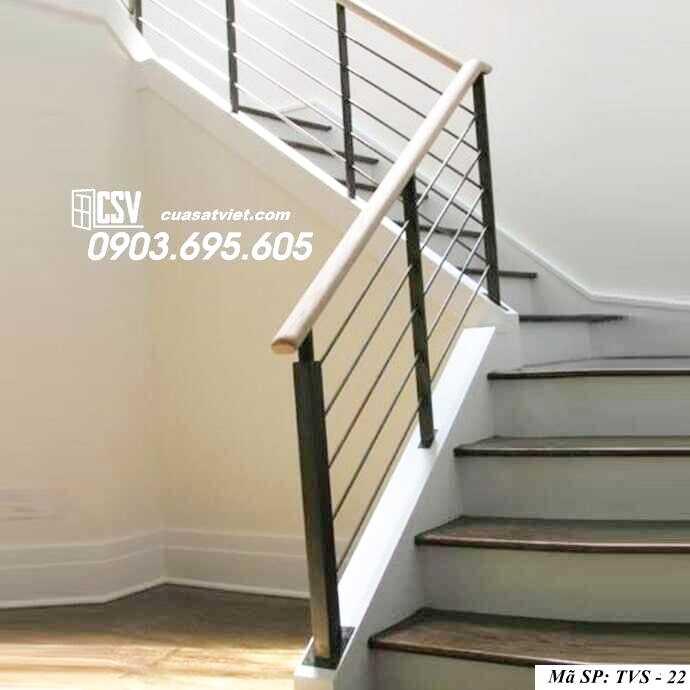 Mẫu tay vịn cầu thang đep TVS 22