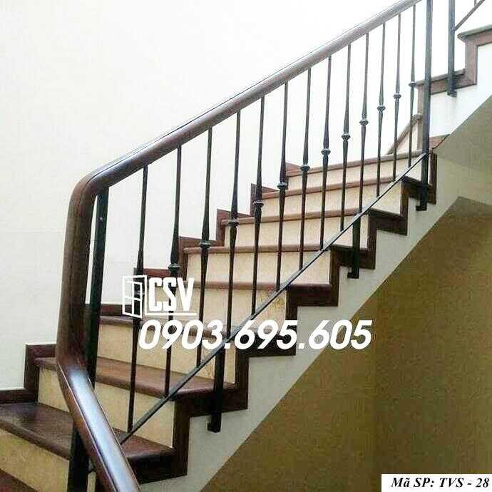 Mẫu tay vịn cầu thang đep TVS 28
