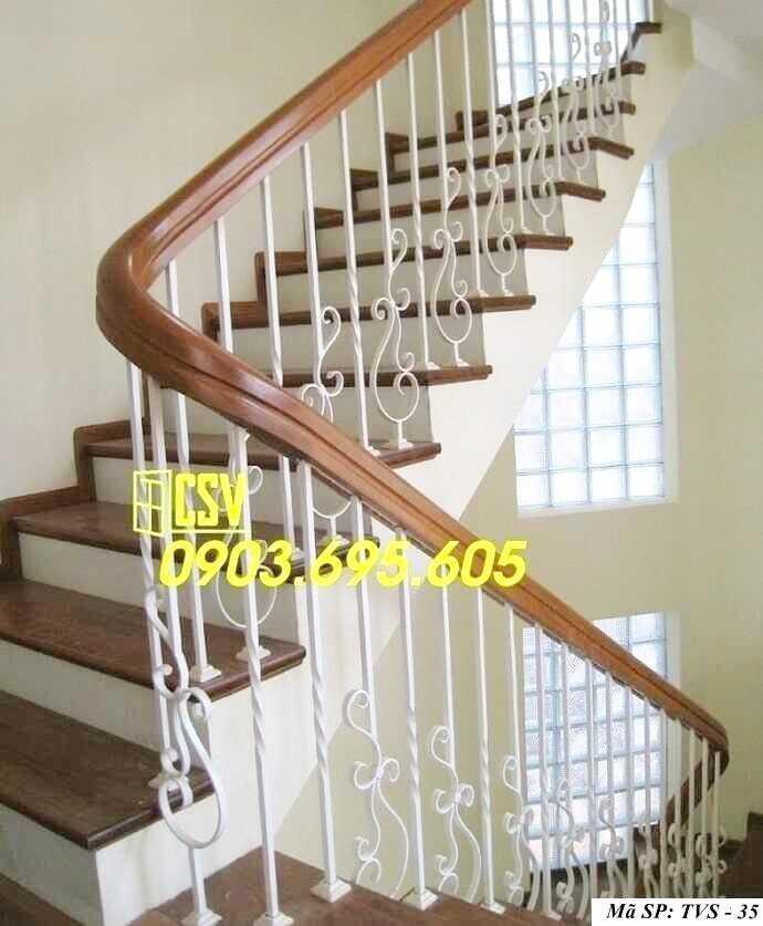 Mẫu tay vịn cầu thang đep TVS 35