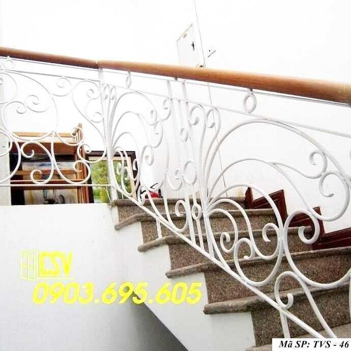 Mẫu tay vịn cầu thang đep TVS 46