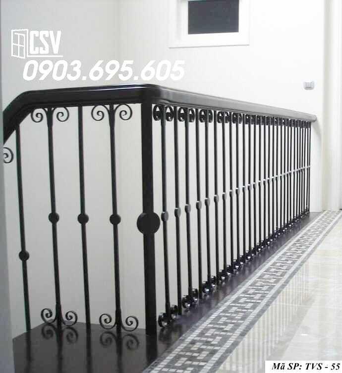 Mẫu tay vịn cầu thang đep TVS 55