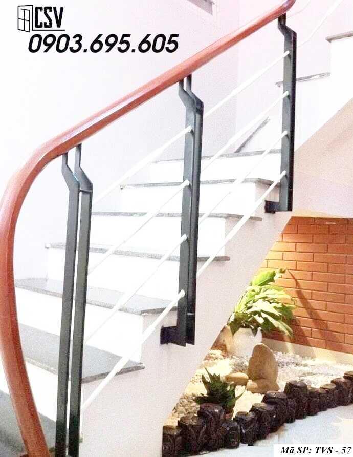 Mẫu tay vịn cầu thang đep TVS 57
