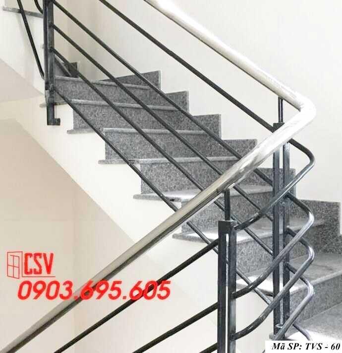 Mẫu tay vịn cầu thang đep TVS 60