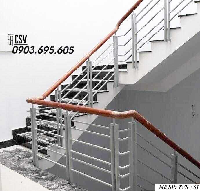Mẫu tay vịn cầu thang đep TVS 61