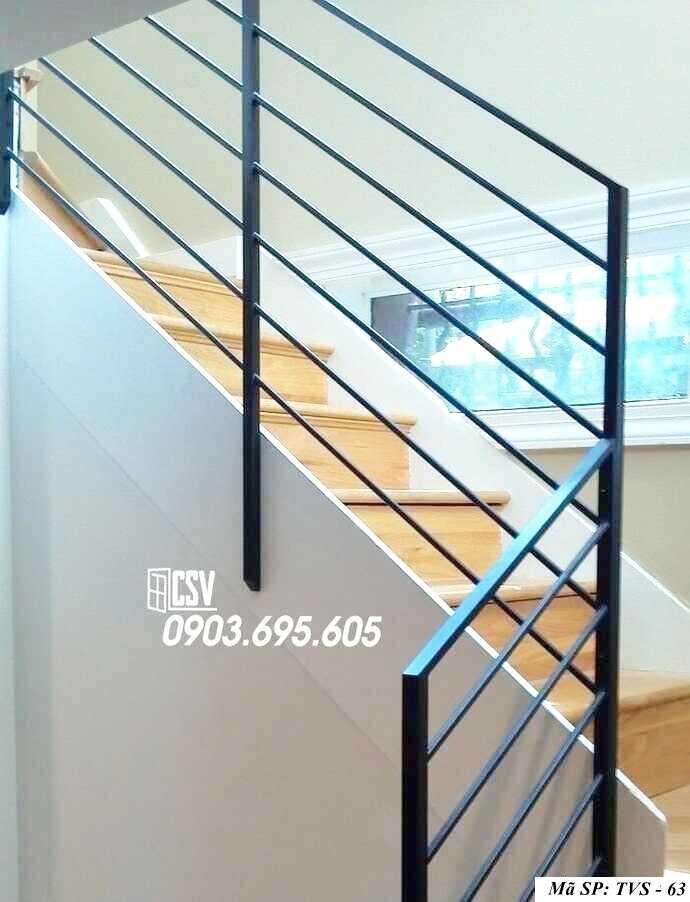 Mẫu tay vịn cầu thang đep TVS 63
