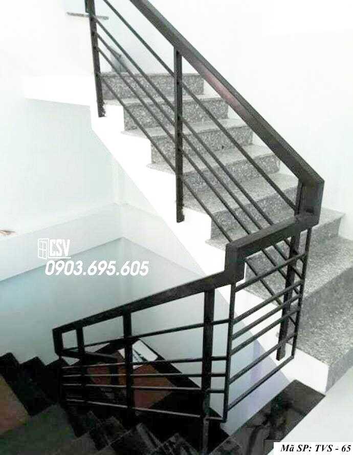 Mẫu tay vịn cầu thang đep TVS 65
