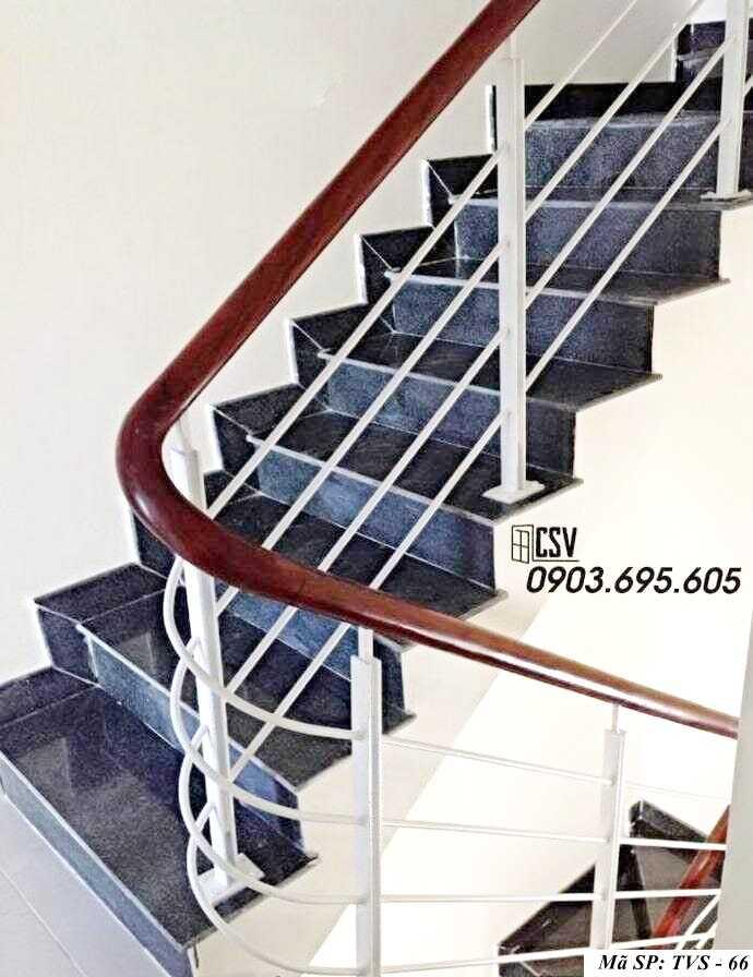 Mẫu tay vịn cầu thang đep TVS 66