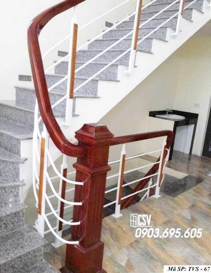 Mẫu tay vịn cầu thang đep TVS 67
