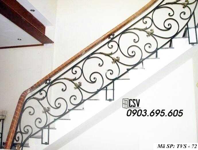 Mẫu tay vịn cầu thang đep TVS 72