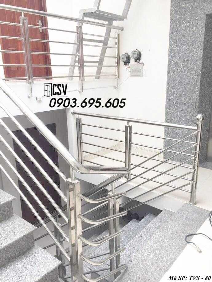 Mẫu tay vịn cầu thang đep TVS 80