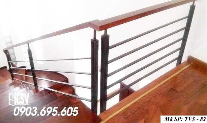 Mẫu tay vịn cầu thang đep TVS 82