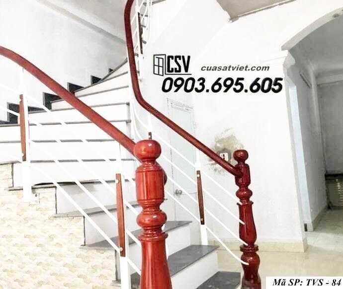 Mẫu tay vịn cầu thang đep TVS 84