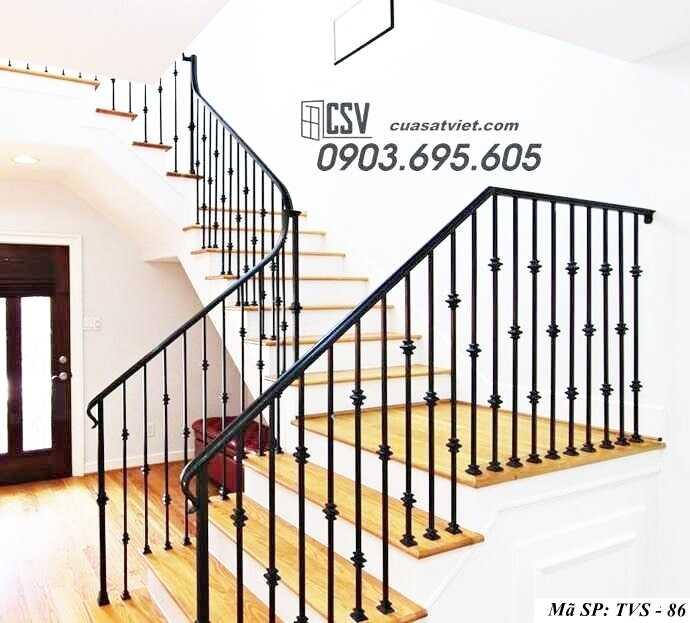 Mẫu tay vịn cầu thang đep TVS 86