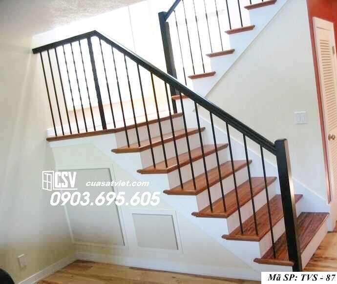 Mẫu tay vịn cầu thang đep TVS 87