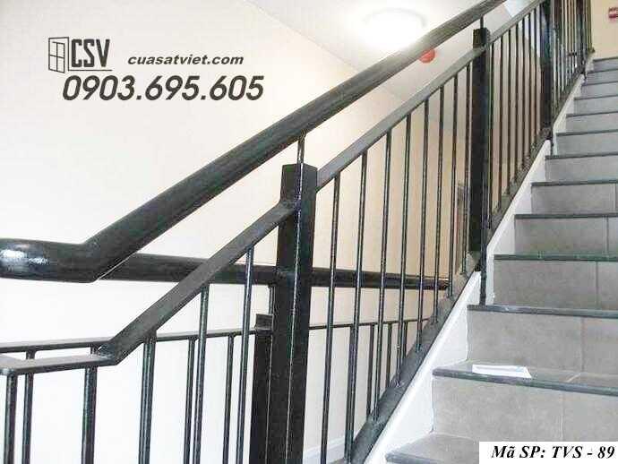 Mẫu tay vịn cầu thang đep TVS 89