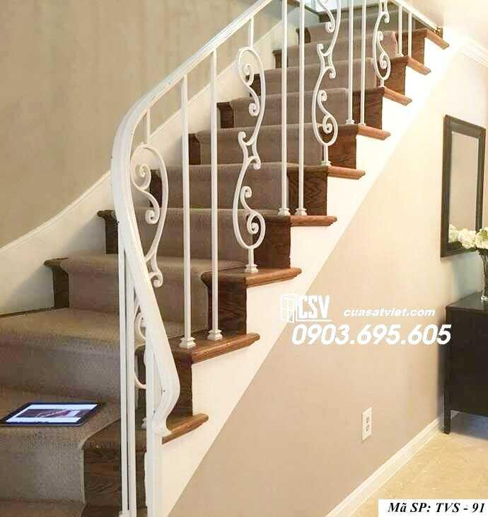 Mẫu tay vịn cầu thang đep TVS 91